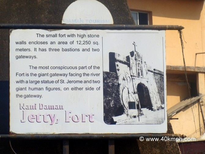 Fort of Nani Daman Historical Marker