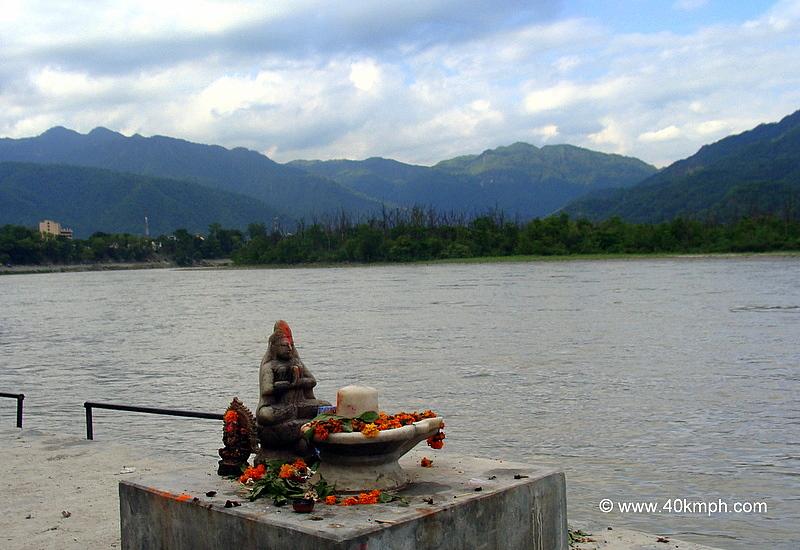 Shivling on The Banks of Ganga