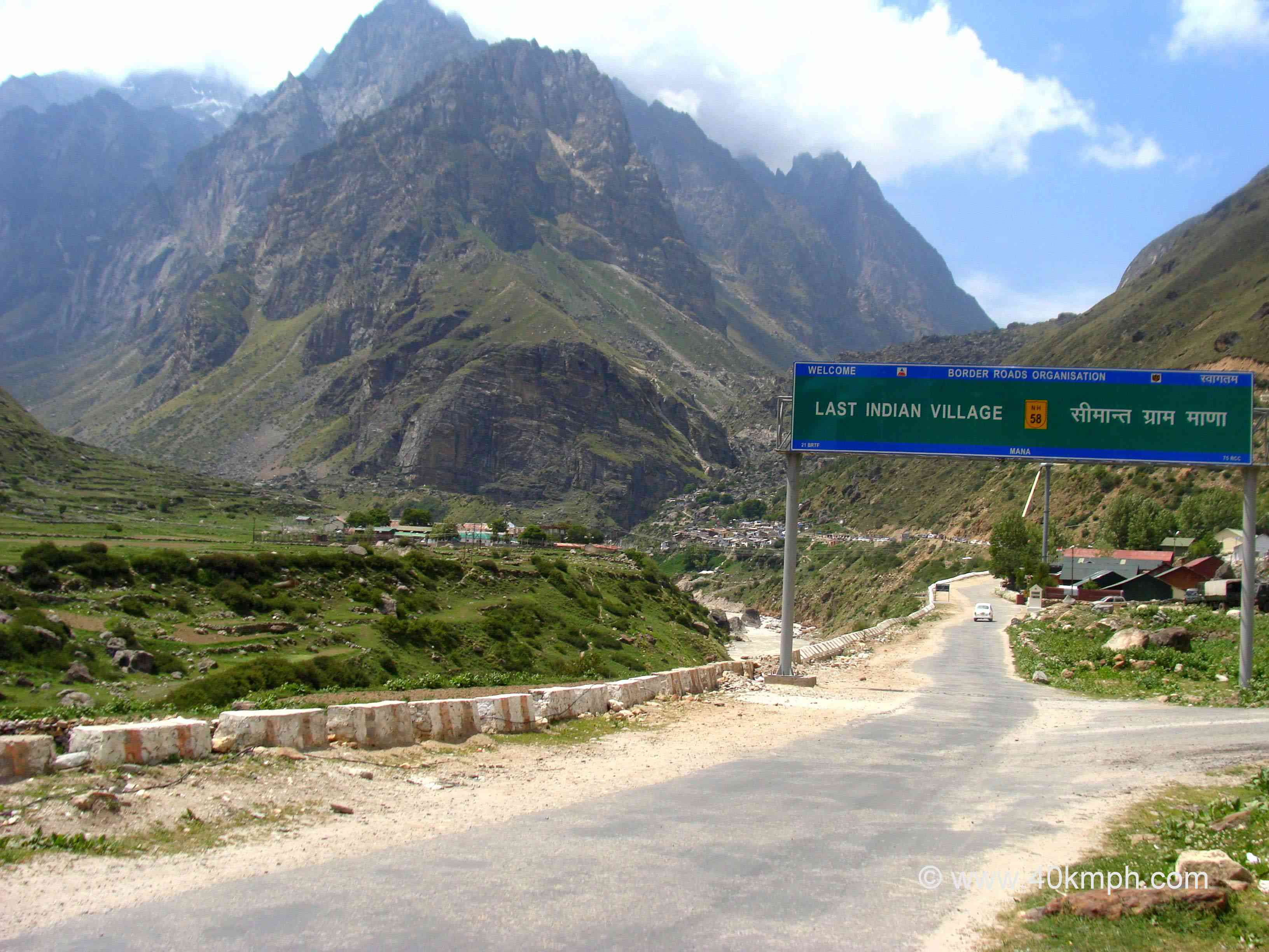 Last Indian Village - Mana Gaon in Uttarakhand