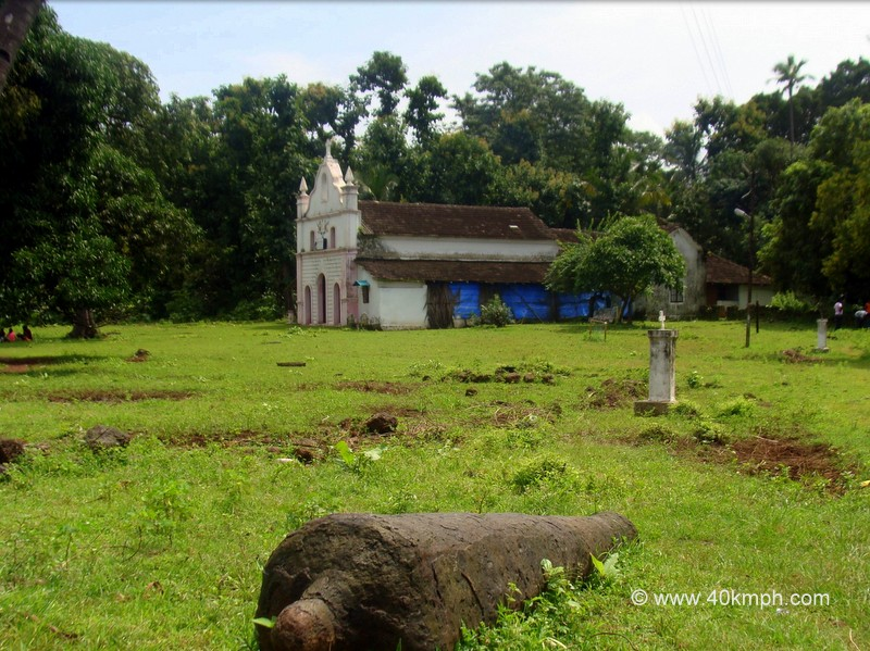St. Anthony Church, Cabo De Rama Fort, Goa
