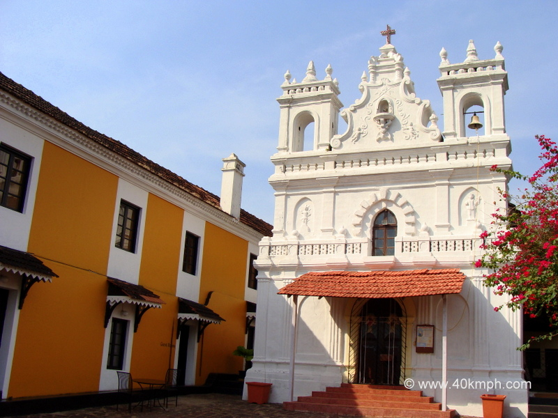 St. Anthony's Church, Fort Tiracol Heritage Hotel, Tiracol, Goa