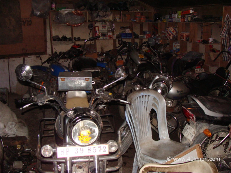 Garage for Motorcycles
