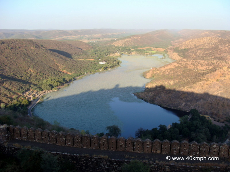 View of Jait Sagar from Taragarh Fort, Bundi, Rajasthan