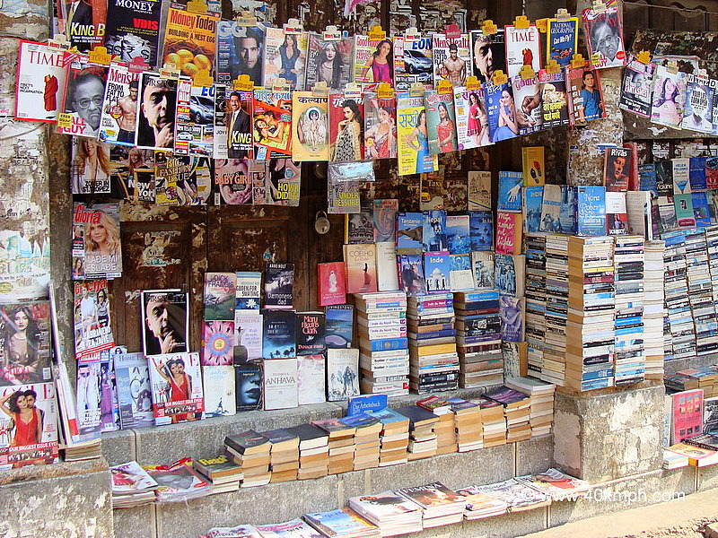 Novels, Books and Magazines Stall