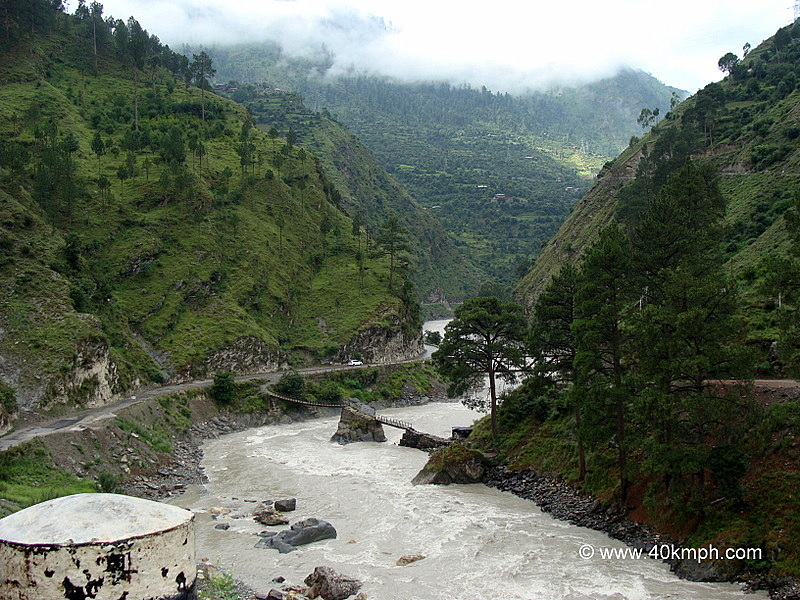 Manikaran Road, Parvati Valley, Kullu, Himachal Pradesh