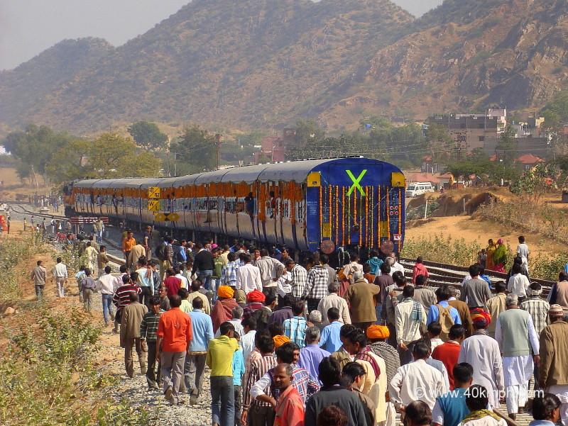 Pushkar To Ajmer Inaugural Train, Pushkar, Rajasthan
