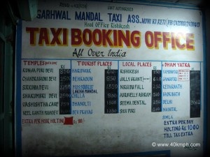 Taxi Booking Office, Muni ki Reti, Rishikesh, Uttarakhand