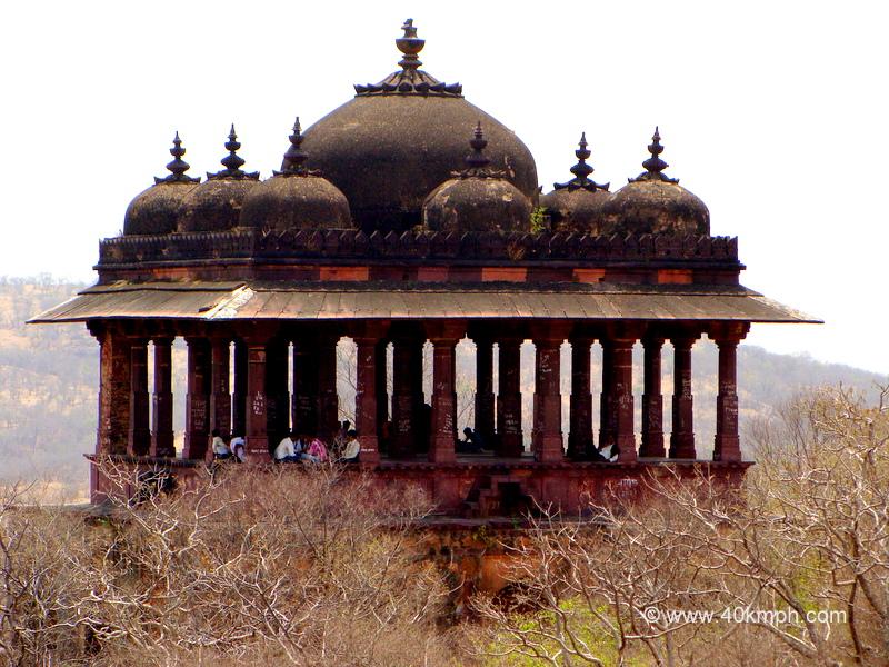 Battis Khambha Chhatri inside Ranthambhore Fort, Ranthambhor, Rajasthan