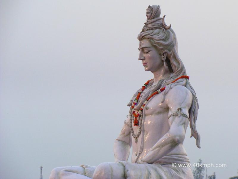 Lord Shiva and Goddess Ganga Statue