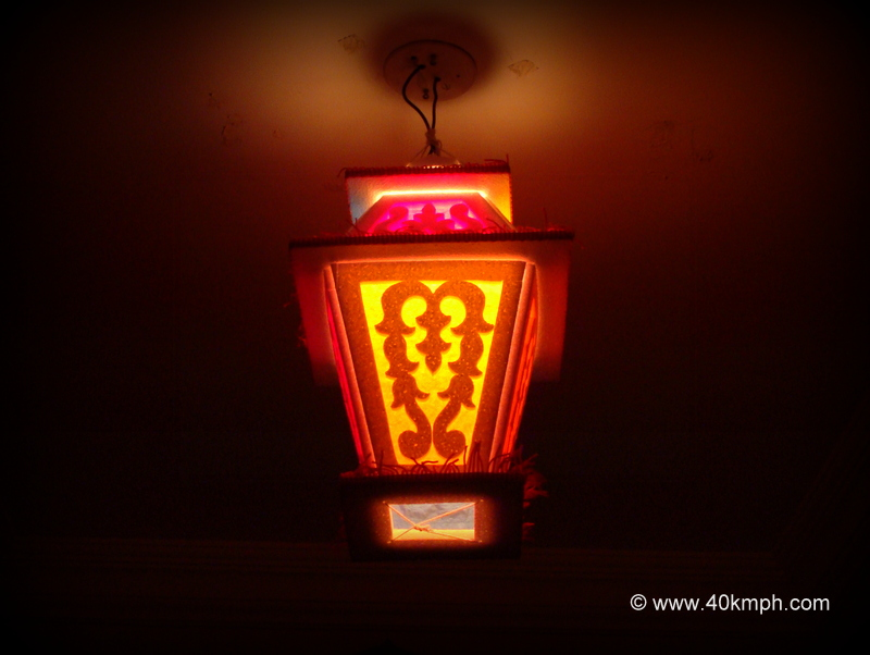 Colorful Diwali Lantern