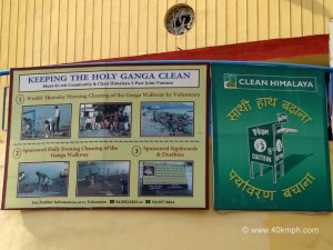 Clean Ganga River Program at Rishikesh, Uttarakhand