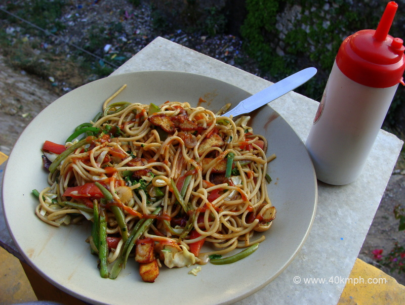 Mixed Vegetable Chowmein