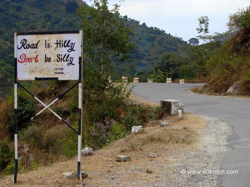 Safe Hill Driving Slogan