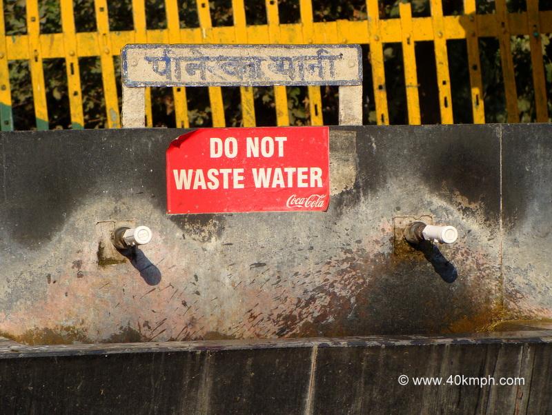 Save Water Slogan