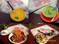 Soup Salad Lunch and Tea