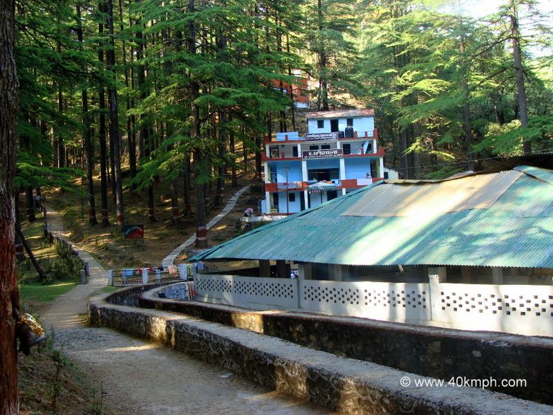 Dharamshala at Tarkeshwar Mahadev (near Gundalkhet village), Pauri Garhwal, Uttarakhand