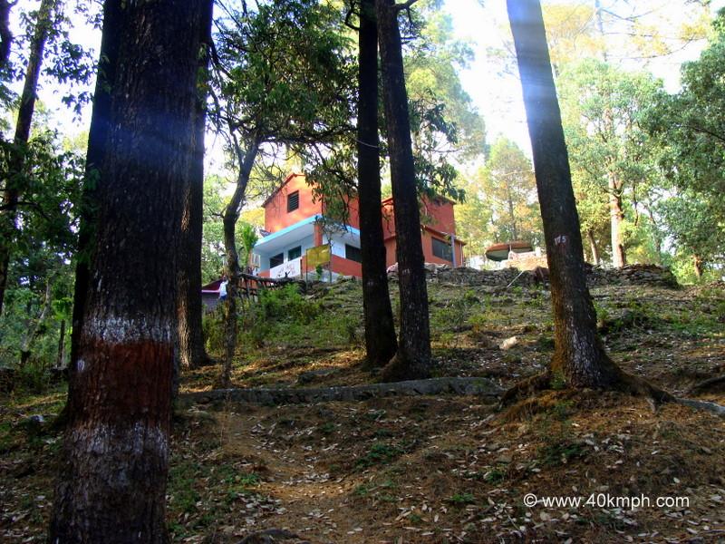 Sadhna Mandir an Ashram at Tarkeshwar Dham (near Gundalkhet village), Pauri Garhwal, Uttarakhand