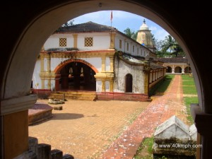 Shree Shantadurga temple, Dhargal village, Pernem, Goa