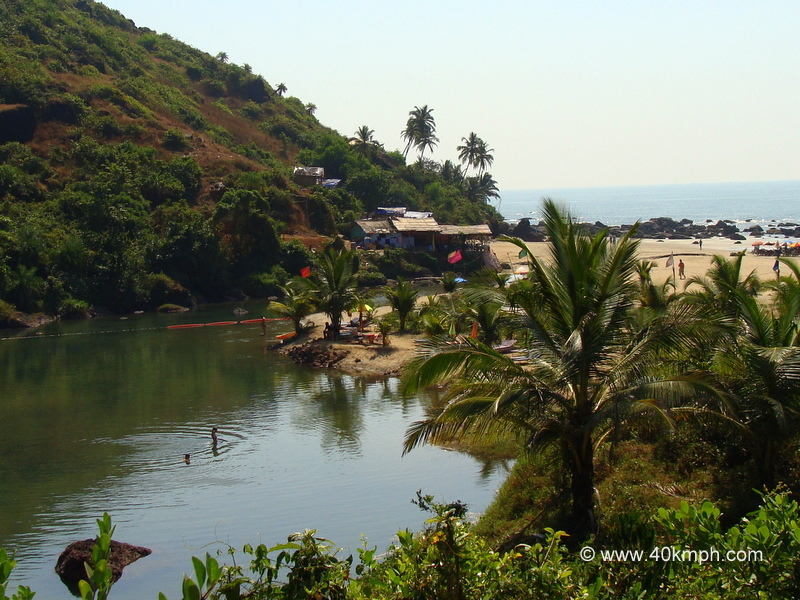 Sweet Lake, Arambol Beach, Goa