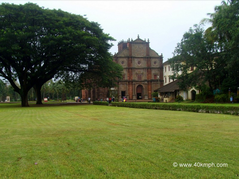 The Basilica of Bom Jesus, Old Goa