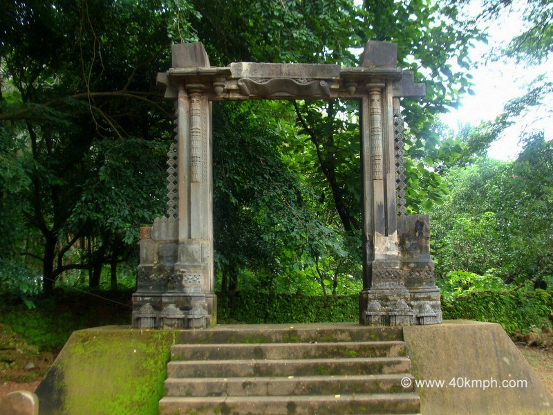 The Gate of The Palace of Adil Shah, Old Goa