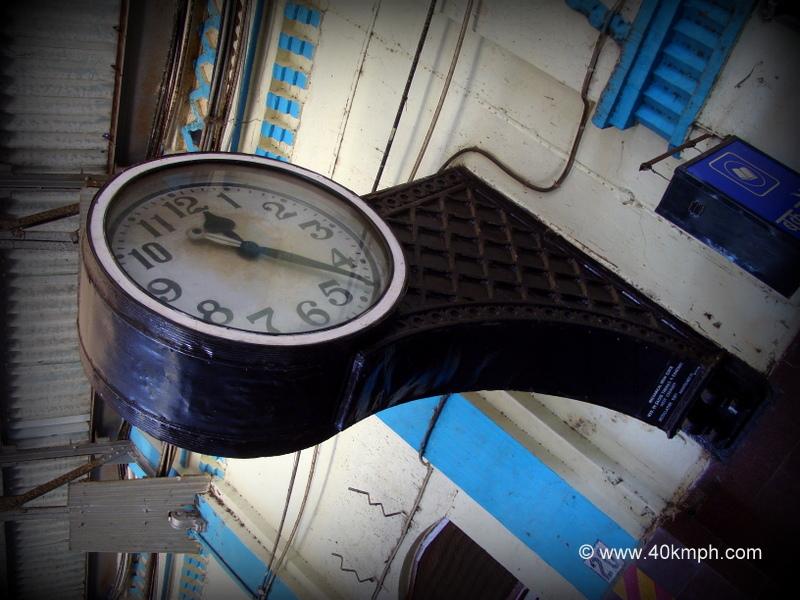 1885 Installed Mechanical Drum Clock at Bharuch Junction, Gujarat