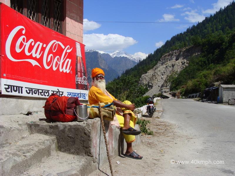 A Sadhu Resting