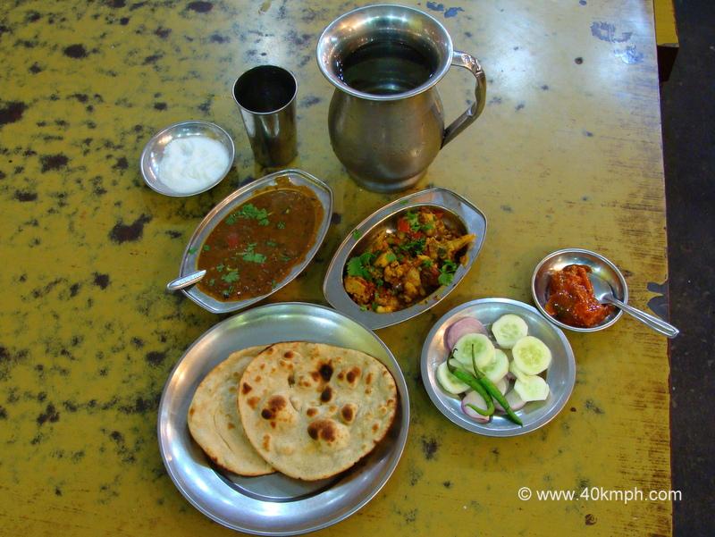 Aloo Gobhi, Rajma Mah, Tandoori Roti for Dinner