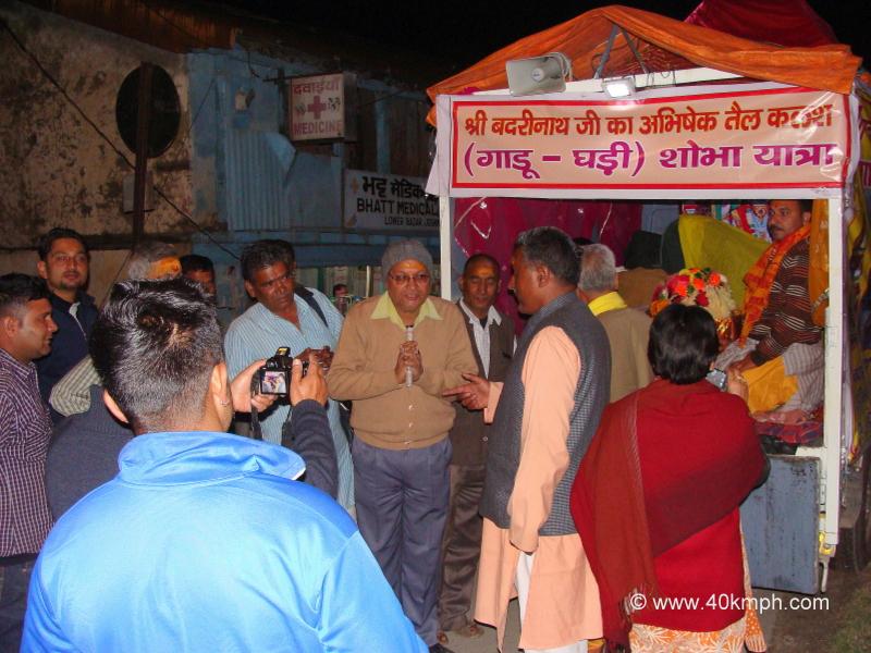 Gadu Ghadi Shobha Yatra at Joshimath, Uttarakhand