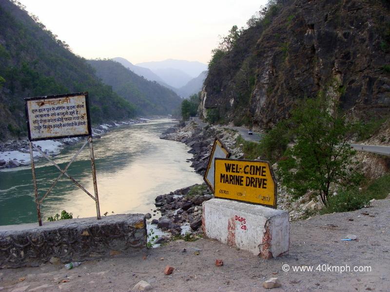 Marine Drive, Malakunti, Uttarakhand