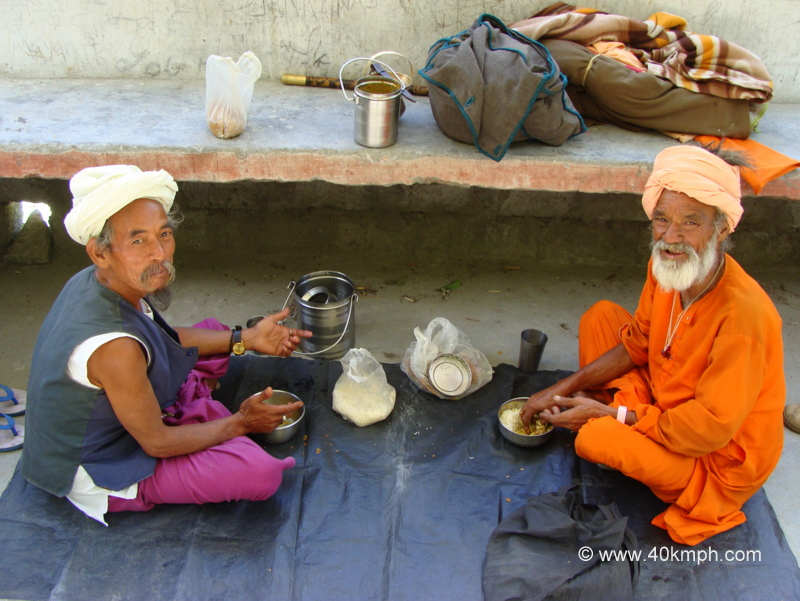 Sadhus Journey from Pashupatinath Temple to Char Dham by Foot
