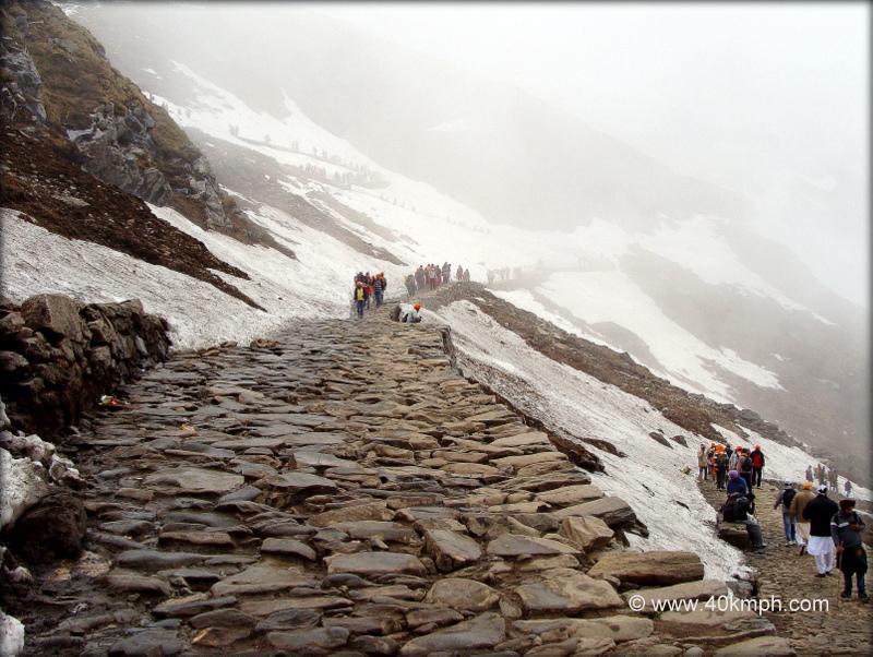 A Stony Snowy Path to Hemkund Sahib, Uttarakhand