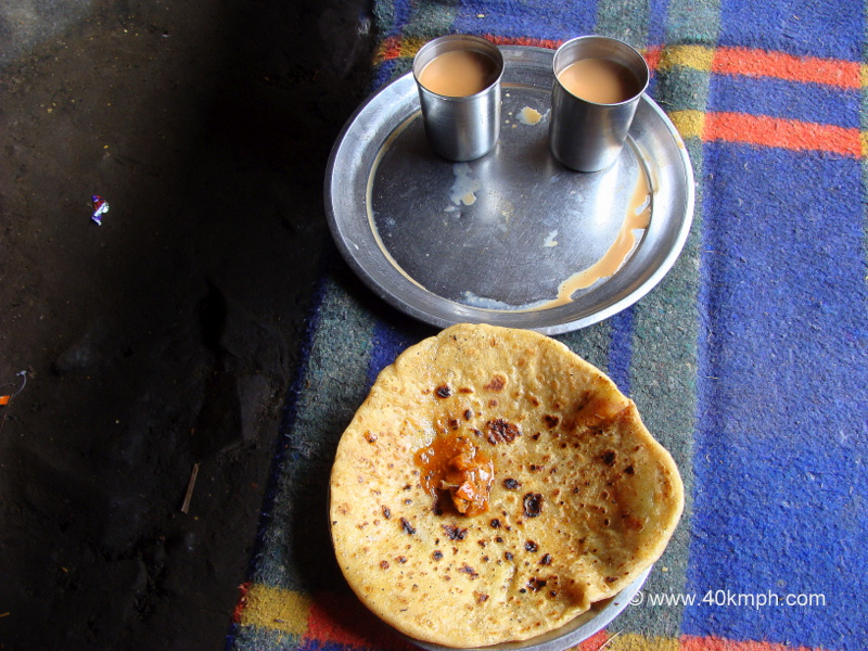 Aaloo Paratha and Chai