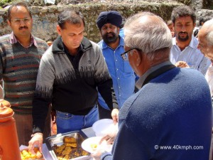 Free Breakfast for Devotees in Badrinath, Chamoli, Uttarakhand