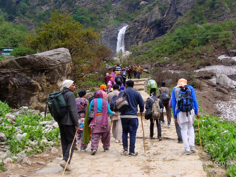 Ghangaria Hemkund Trek Starting Point, Uttarakhand