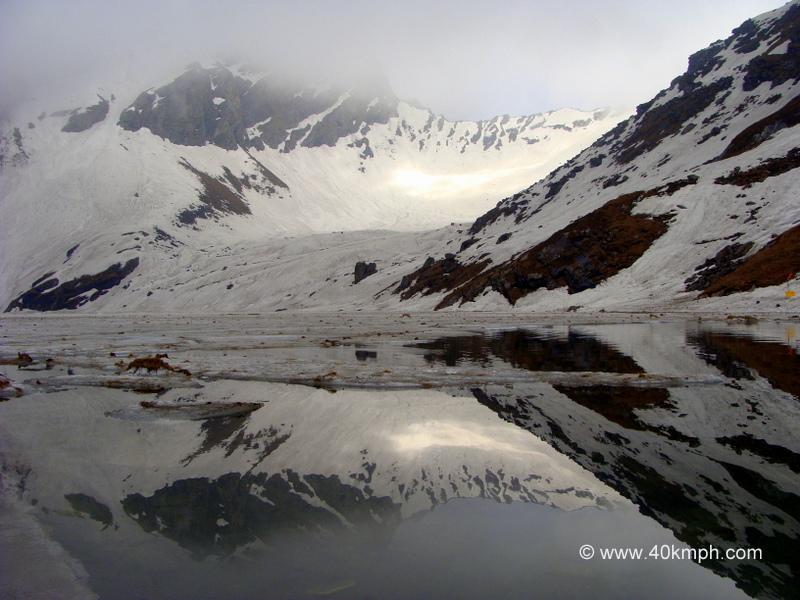 Hemkund Lake, Hemkund Sahib, Uttarakhand