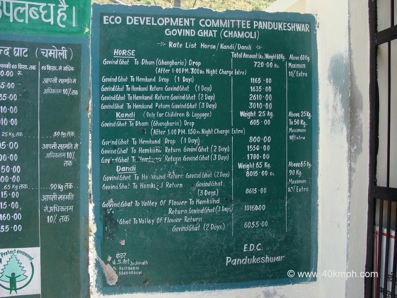 Horse, Kandi, Dandi Rate List, Govindghat, Uttarakhand