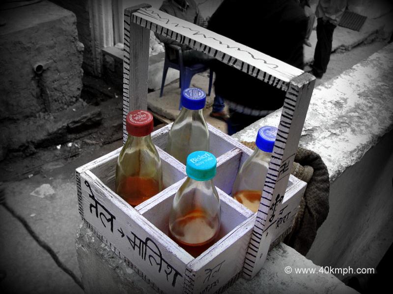 Massage Oil Carrier in Ghangaria, Uttarakhand