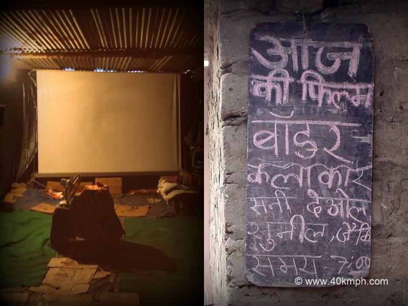 Small Screen Theater in Ghangaria, Uttarakhand