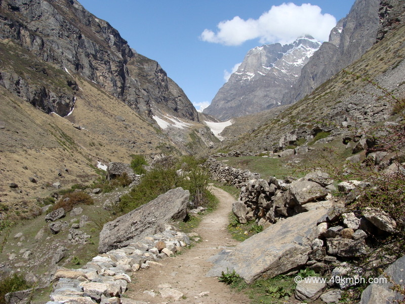 Vasudhara Falls Trek, near Mana Village, Uttarakhand