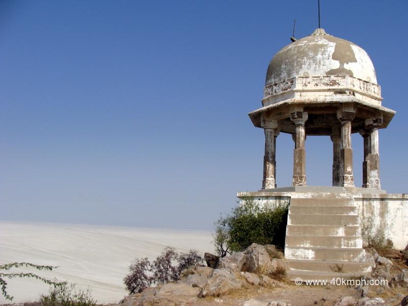 Chhatri Built by Jahangir near Shakambari Devi Temple, Sambhar, Rajasthan
