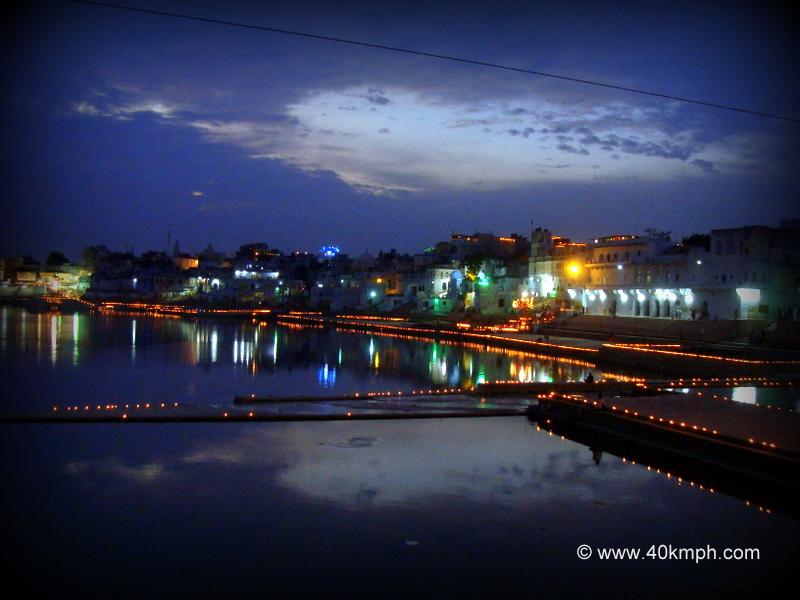 Deep Dan, Pushkar Sarovar, Pushkar Fair 2011