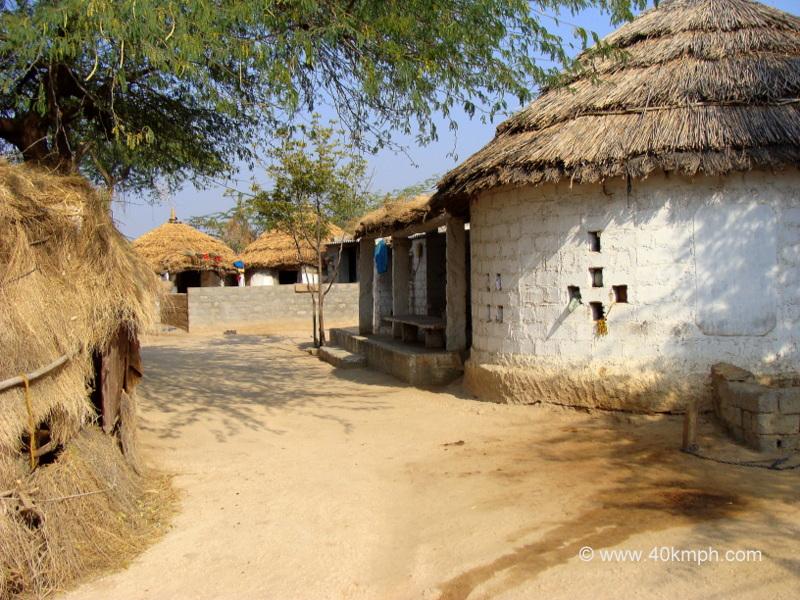 Dhani in Bishnoi Village, Jodhpur, Rajasthan