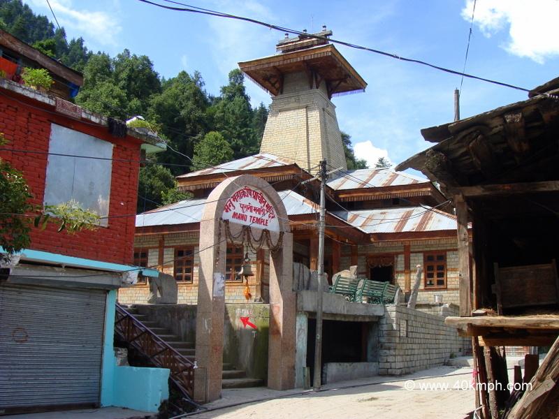 Manu Temple, Old Manali, Himachal Pradesh