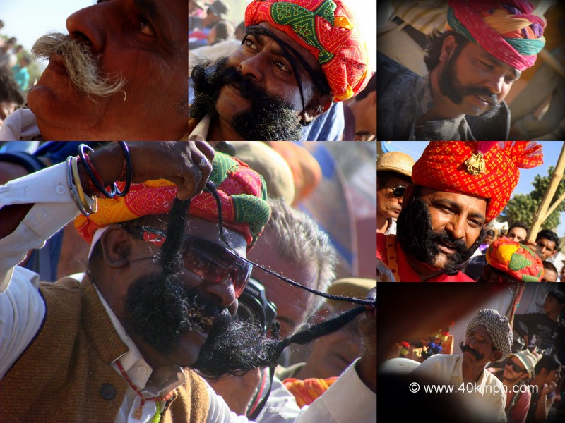 Moustache Competition, Pushkar Fair 2011