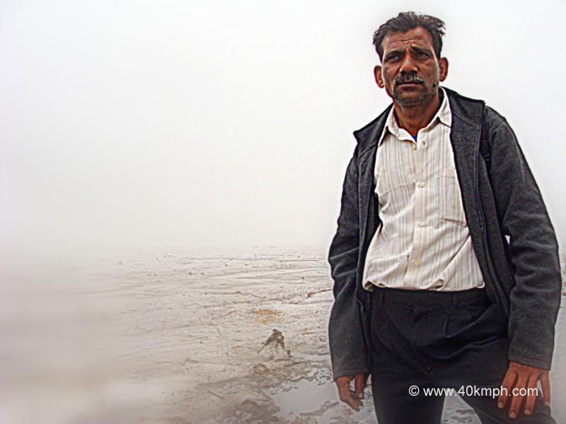 Brahmachari, The Massage Therapist from Rishikesh, Uttarakhand