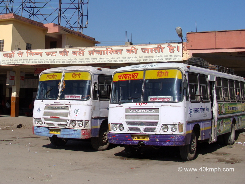 Central Bus Stand, Ajmer, Rajasthan
