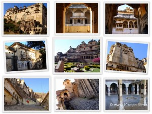 Collage of Bundi Palace and Chitrashala