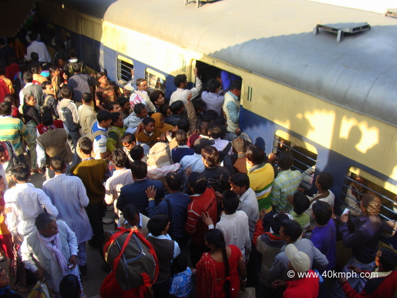 EMU Train, New Delhi Railway Station
