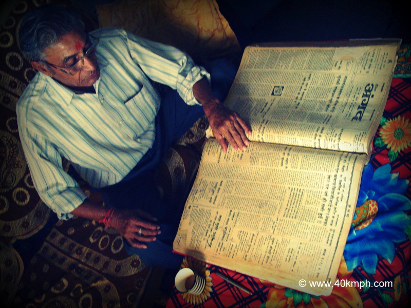 Famous Historian in Bundi, Rajasthan